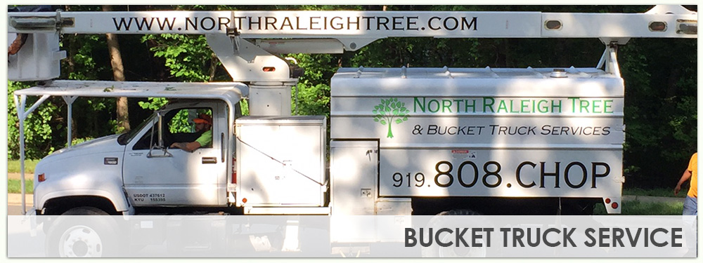 Bucket Truck Services in Raleigh